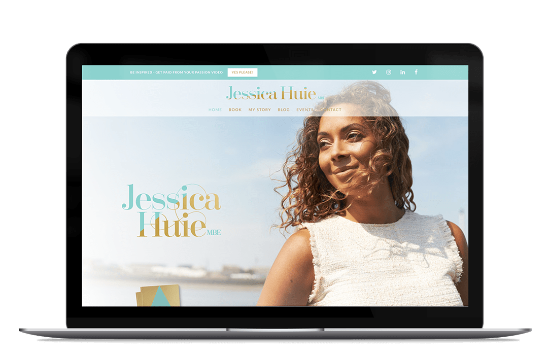 Jessica Huie Website
